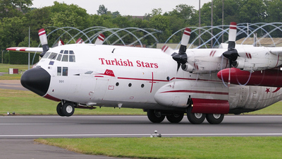 73-0991 - Lockheed C-130E Hercules - Turkey - Air Force