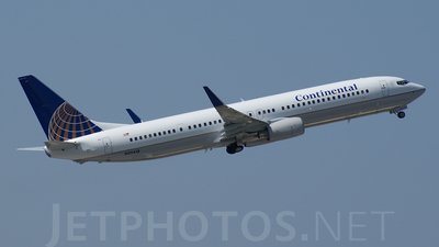 N39418 - Boeing 737-924ER - Continental Airlines