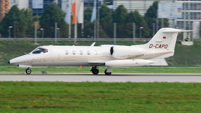 D-CAPO - Bombardier Learjet 35A - Jet Executive International Charter