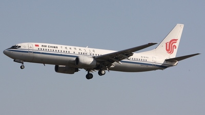 B-2161 - Boeing 737-86N - Air China