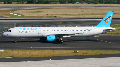 TC-TCG - Airbus A321-211 - Turkuaz Airlines