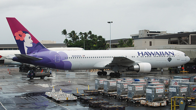 N593HA - Boeing 767-33A(ER) - Hawaiian Airlines