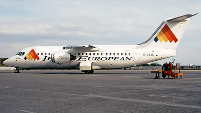 G-JEAK - British Aerospace BAe 146-200 - Jersey European Airways