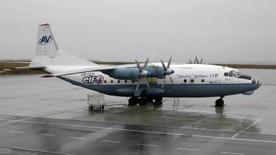 UR-CCP - Antonov An-12A - Aerovis Airlines