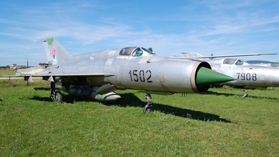 1502 - Mikoyan-Gurevich Mig-21R Fishbed - Slovakia - Air Force