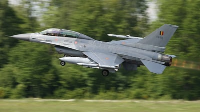 FB-22 - General Dynamics F-16BM Fighting Falcon - Belgium - Air Force