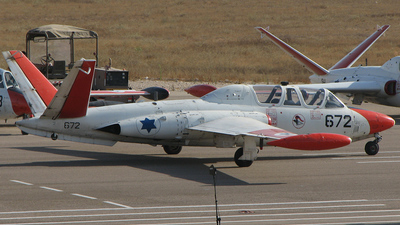 672 - Fouga CM-170 Magister - Israel - Air Force