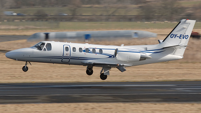 OY-EVO - Cessna 550B Citation Bravo - EVO Aviation