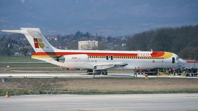 EC-GRL - McDonnell Douglas MD-87 - Iberia