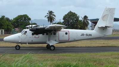 J8-SUN - De Havilland Canada DHC-6-300 Twin Otter - Grenadine Airways