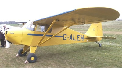 G-ALEH - Piper PA-17 Vagabond - Private