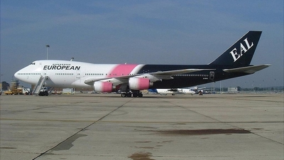G-BDXG - Boeing 747-236B - European Aviation (EAL)