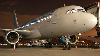 EC-KCU - Airbus A320-216 - Clickair