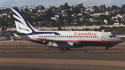 C-GJPW - Boeing 737-275(Adv) - Canadian Airlines International