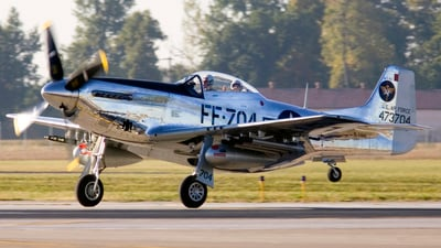 NL6168C - North American P-51D Mustang - Private
