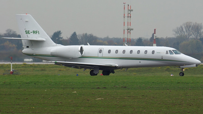 SE-RFI - Cessna 680 Citation Sovereign - European Flight Service (EFS)