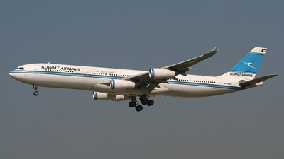 9K-ANC - Airbus A340-313 - Kuwait Airways