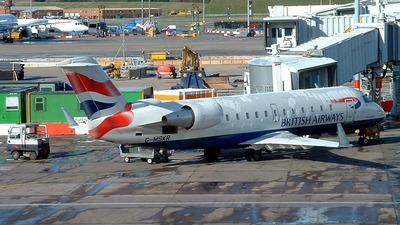 G-MSKR - Bombardier CRJ-200LR - British Airways