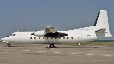 HA-FAD - Fokker F27-500 Friendship - Farnair Hungary