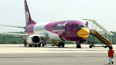 HS-TDA - Boeing 737-4D7 - Nok Air
