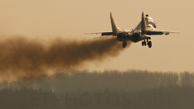 4105 - Mikoyan-Gurevich MiG-29UB Fulcrum B - Poland - Air Force