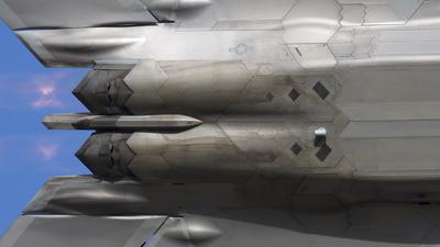 02-4036 - Lockheed Martin F-22A Raptor - United States - US Air Force (USAF)