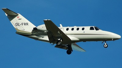 OE-FRR - Cessna 525 CitationJet 1 - SalzburgJetAviation