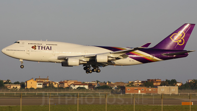 HS-TGT - Boeing 747-4D7 - Thai Airways International