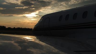 A picture of N815QS - Cessna 700 Citation Longitude - NetJets - © Nicholas Morris