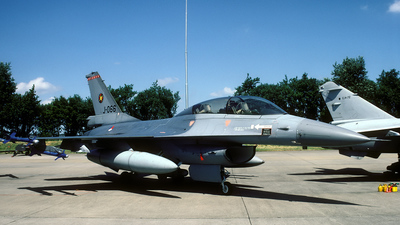J-066 - General Dynamics F-16B Fighting Falcon - Netherlands - Royal Air Force