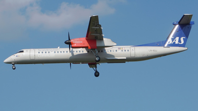LN-RDJ - Bombardier Dash 8-Q402 - Scandinavian Commuter (SAS)