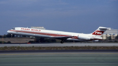 N955U - McDonnell Douglas MD-82 - Trans World Airlines (TWA)