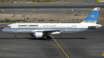 9K-AKC - Airbus A320-212 - Kuwait Airways