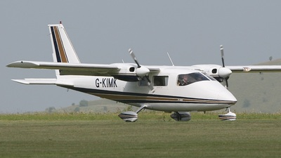A picture of GKIMK - Partenavia P68B - [27] - © Paul Chandler