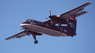 N846EX - Bombardier Dash 8-102A - US Airways Express (Allegheny Airlines)