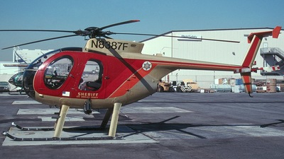 N8387F - McDonnell Douglas MD-500 - United States - Los Angeles County Sheriff