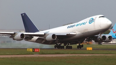 Boeing 747-230F(SCD) - Ocean Airlines