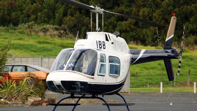 ZK-IBB - Agusta-Bell AB-206B JetRanger II - Private