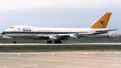 ZS-SAS - Boeing 747-244B(M) - South African Airways