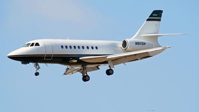 N911SH - Dassault Falcon 2000 - Private