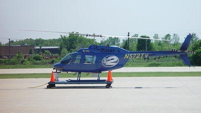 N572TV - Bell 206B JetRanger - CBS News