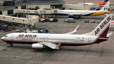 D-ABAY - Boeing 737-86J - Air Berlin