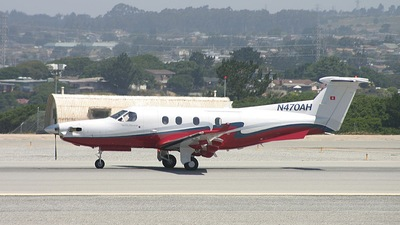 N470AH - Pilatus PC-12/45 - Brighton Aviation