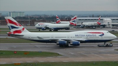 G-BNLR - Boeing 747-436 - British Airways
