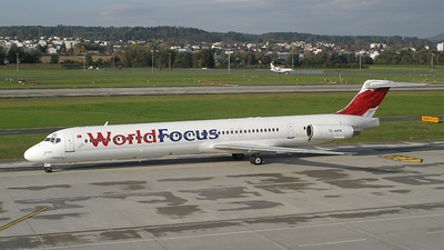 TC-AKN - McDonnell Douglas MD-83 - World Focus Airlines