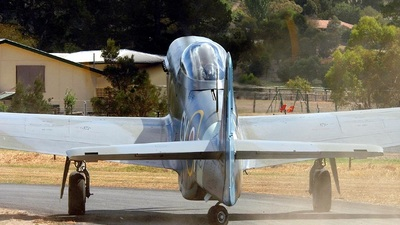 VH-JUC - CAC CA-18 Mk.21 Mustang - Private