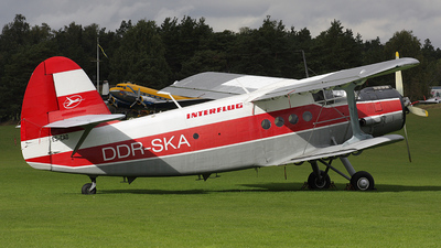 ES-CAD - PZL-Mielec An-2 - Interflug