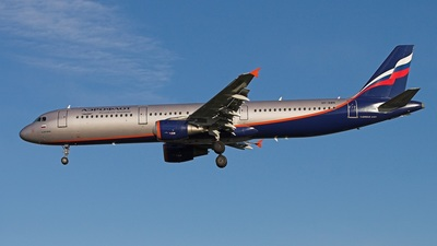 VP-BWN - Airbus A321-211 - Aeroflot