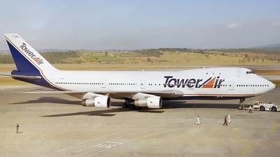 N608FF - Boeing 747-131 - Tower Air