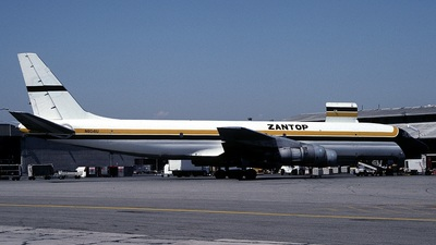 N8041U - Douglas DC-8-54(F) - Zantop International Airlines